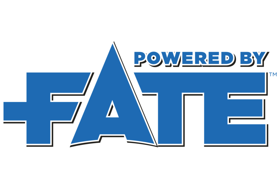 Logo Powered by Fate - Light BG